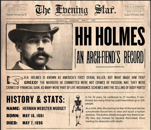 HH Holmes PIC